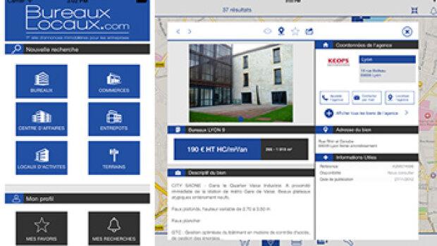 BureauxLocaux lance son application mobile