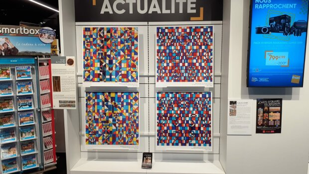 Médiation culturelle : comment le musée de Saint-Lô (Manche) a-t-il exposé dans les commerces ?