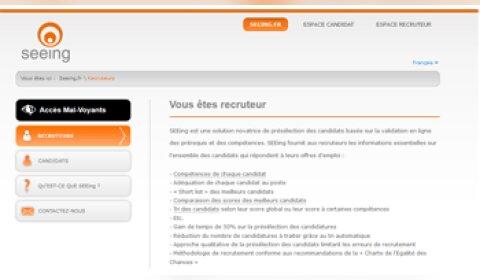 Seeing automatise la présélection des candidats chez Accor et Danone