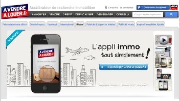 A Vendre A Louer simplifie ses applications iPhone et iPad