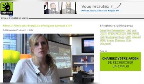 Keljob ressuscite l'offre d'emploi vidéo