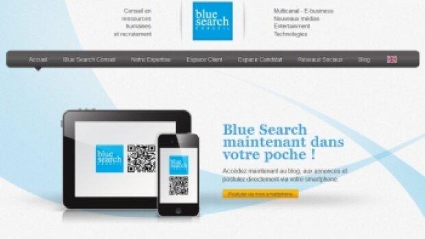 Blue Search adopte le QR code