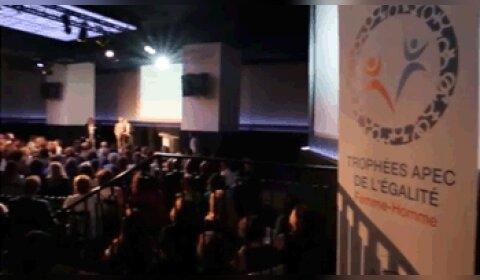 Vidéo - Trophées Apec de l'égalité femme-homme: et les gagnants sont…