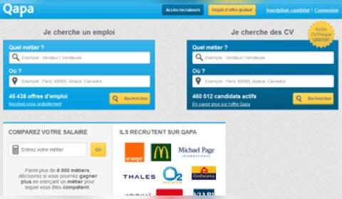 400000 CV en accès libre sur Qapa.fr