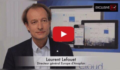3 min avec Laurent Lefouet, Directeur général Europe d'Anaplan
