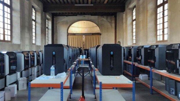 Covid-19 : les membres d'Université de Paris fabriquent du matériel pour les soignants