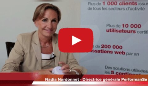 4 min 30 avec Nadia Nardonnet, DG de PerformanSe