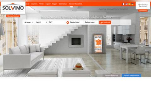 Un site web flambant neuf pour Solvimo