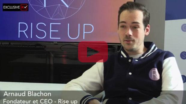 3 min avec Arnaud Blachon, Rise Up