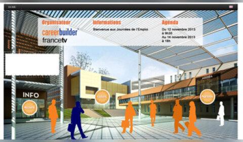CareerBuilder lance un salon virtuel de recrutement