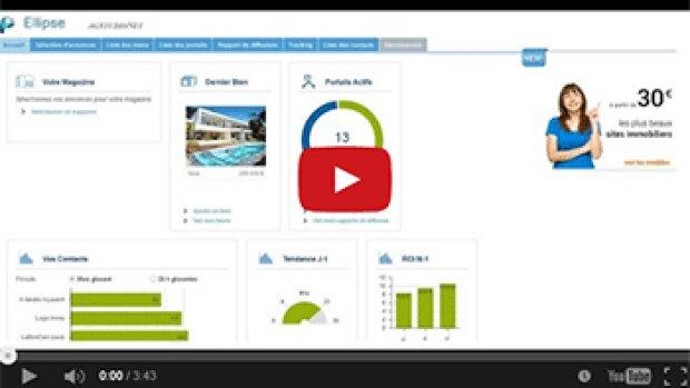 Publi-vidéo : Ellipse, outil de tracking et de calcul du ROI de la multidiffusion d'annonces immobilières