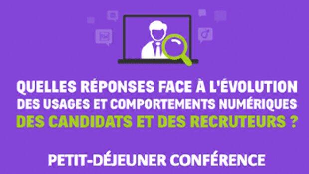 Petit-déjeuner : quelles réponses face à l'évolution des usages et des comportements numériques des candidats et des recruteurs ?