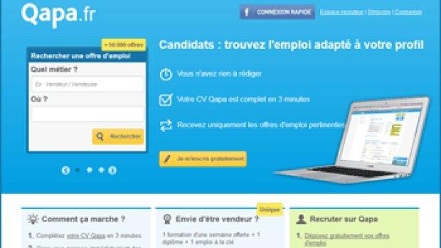 """""""Qapa.fr met en relation un recruteur et un candidat pour moins de 30 euros"""", Stéphanie Delestre"""