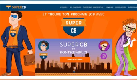 SuperCB, l'opération marketing décalée de CareerBuilder