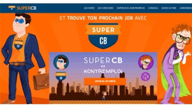 SuperCB, l'opération marketing décalée de CareerBuilder