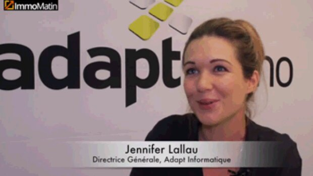 3 min avec Jennifer Lallau, directrice générale d'Adapt Informatique