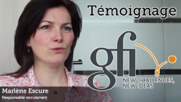 "Publi-vidéo - ""Viadeo représente 10% de nos recrutements"", Marlène Escure, Gfi Informatique"