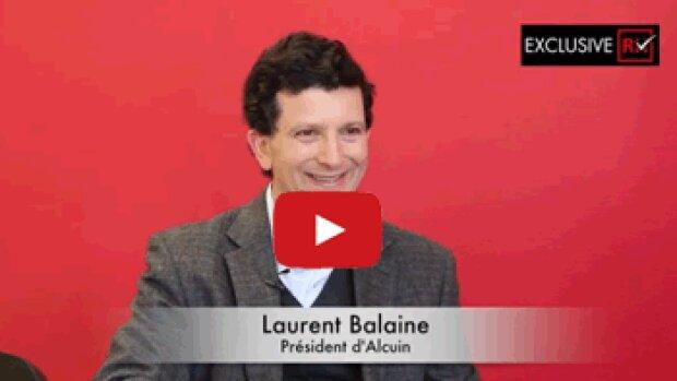 3 min avec Laurent Balaine, président d'Alcuin