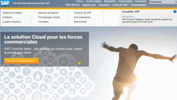 SAP annonce une croissance à 3 chiffres sur le cloud en France