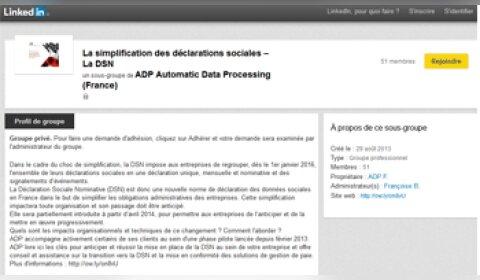 La DSN, un thème décortiqué par ADP sur LinkedIn