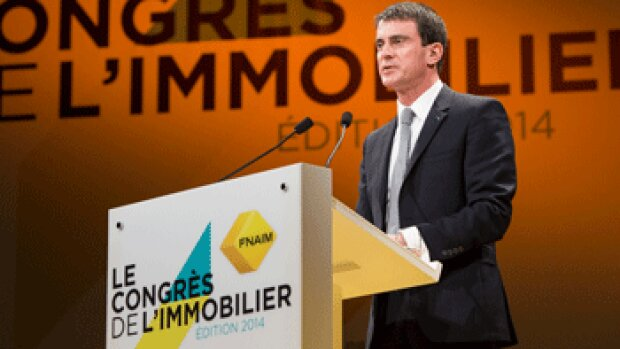 """Congrès Fnaim : """"Le logement est une priorité du gouvernement"""", Manuel Valls"""