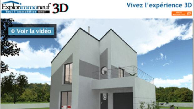 Explorimmoneuf innove avec la visite en 3D