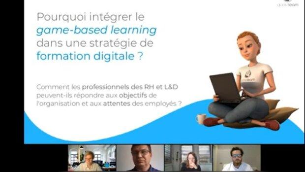 Game-Based Learning & stratégie de formation digitale: le webinaire Gamelearn en replay