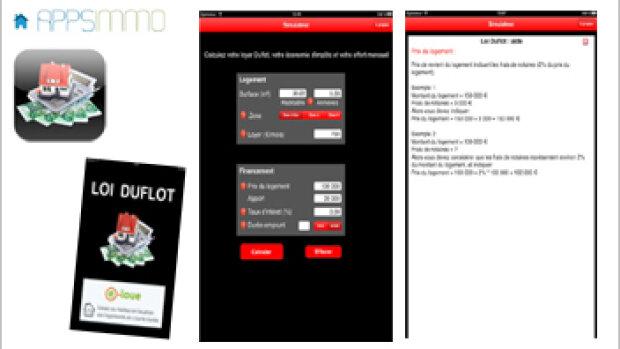 Le dispositif Duflot a son application Iphone et Android