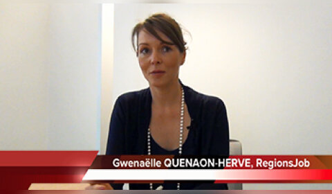4 min 30 avec Gwenaëlle Quénaon-Hervé, directrice générale adjointe de RegionsJob