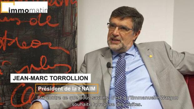 Congrès FNAIM 2020 : Interview JM Torrollion
