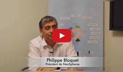 4 min 30 avec Philippe Bloquet, président de NeoSpheres
