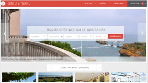 Côte & Littoral : un site de niche avec une tarification à la performance