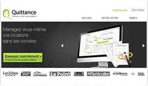 Quittance.com propose des services en ligne aux propriétaires