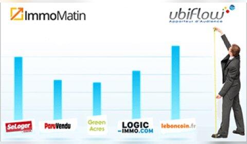 Le Top Immomatin / Ubiflow des sites immobiliers de janvier 2014