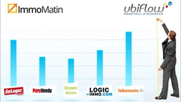 Le Top Immomatin / Ubiflow des sites immobiliers de décembre 2013