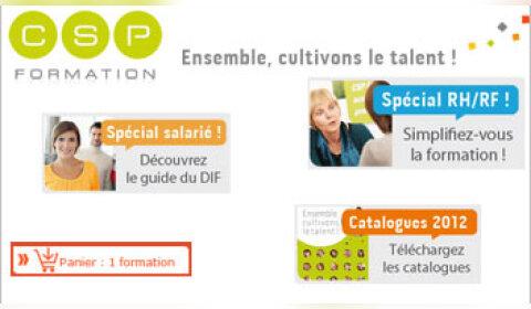 N°3 de la formation en France, CSP consolide sa stratégie web