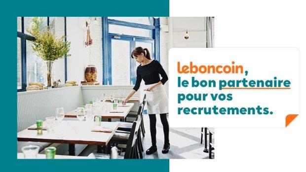 leboncoin accompagne les professionnels de l'hôtellerie-restauration et du tourisme