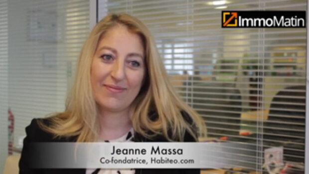 3 min avec Jeanne Massa, co-fondatrice d'Habiteo.com