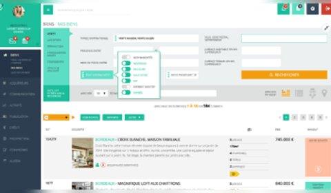 Immo-One rajeunit son logiciel de transaction