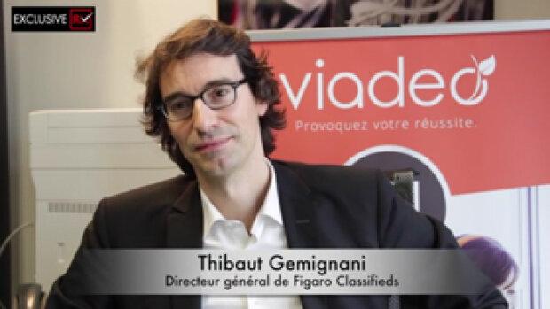 """Vidéo : """"Nous voulons faire de Viadeo le Xing à la française"""", Thibaut Gemignani, Figaro Classifieds"""