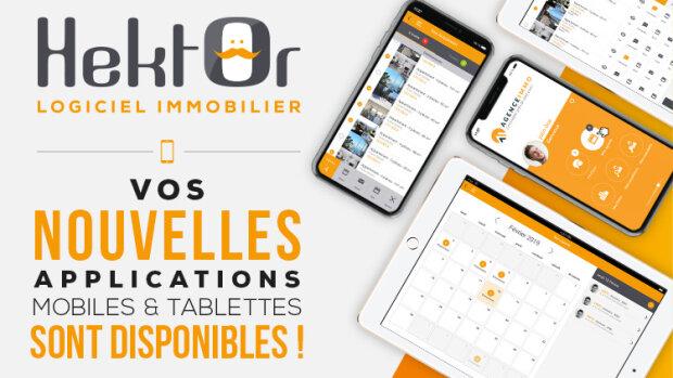 Hektor refond son application mobile