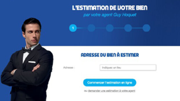 Guy Hoquet s'empare de l'estimation en ligne
