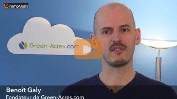 3 min avec Benoît Galy, Green-Acres.com