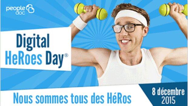 Le 8 décembre, PeopleDoc transformera les DRH en super-héros