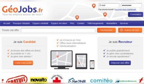Géojobs: le dernier né sur le marché des offres d'emploi géolocalisées