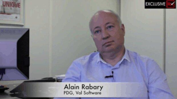 3 min avec Alain Rabary, PDG de Val Software