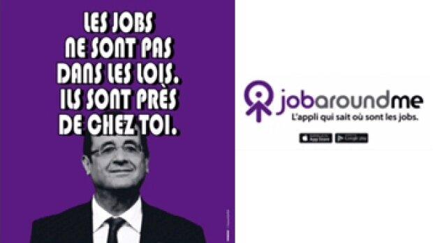 JobAroundMe fait campagne pour l'emploi de proximité