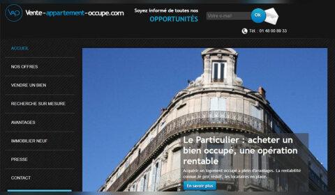 Lancement d'un nouveau site pour le marché des appartements occupés