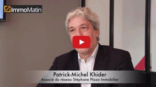 3 min avec Patrick-Michel Khider, Associé chez Stéphane Plaza Immobilier