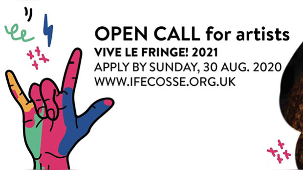 Appel à projets : l'Institut Français d'Ecosse accueille des spectacles pour le Fringe 2021